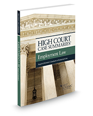 Recent U.S. Supreme Court Employment Law Cases